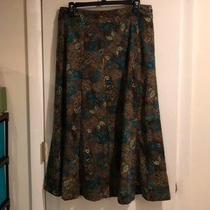 NWOT Christopher & Banks Maxi Skirt